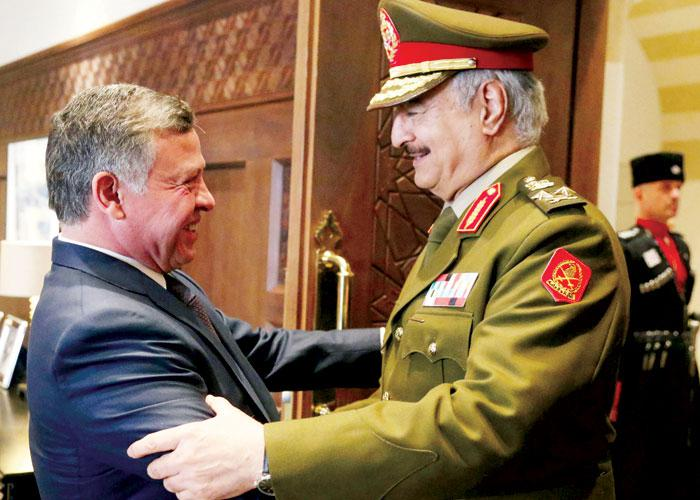 Libya's Haftar seeks to train forces in Jordan | Jamal J. Halaby | AW