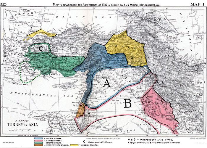 A Century After Sykes Picot Its Sykes Picot The Arab Version Aw