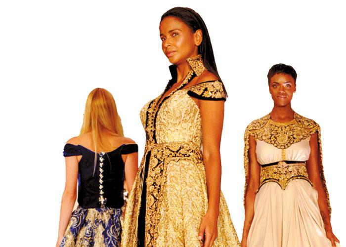 North African Designers Shine At The London Arabia Art And Fashion Week Saad Guerraoui Aw
