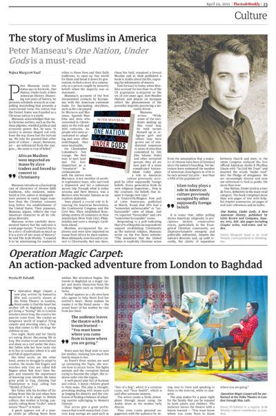 Operation Magic Carpet: An action-packed adventure from