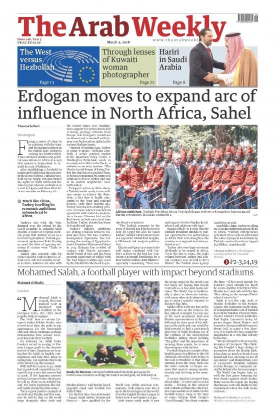 Erdogan moves to expand arc of influence in North Africa, Sahel
