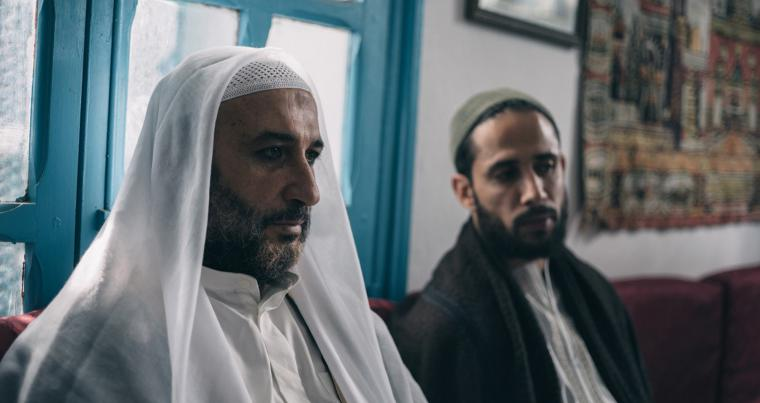 "Thorny issue. A scene from Mahmoud Ben Mahmoud's ""Fatwa.""  (Les Films Du Fleuve)"
