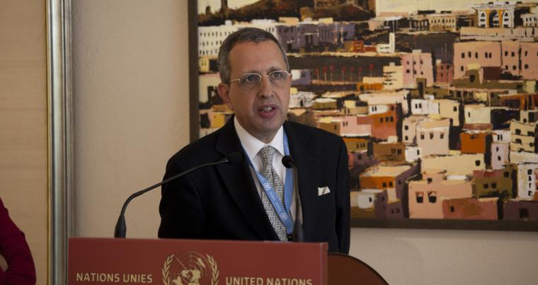 Former Tunisian Ambassador to the UN Moncef Baati. (Flickr)