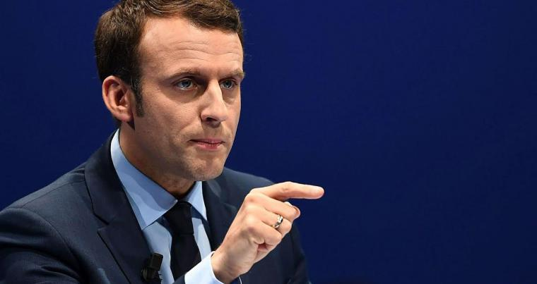 A file picture of French President Emmanuel Macron. (AFP)