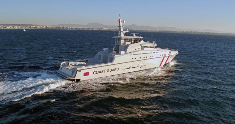 Qatar Coast Guard 48m Patrol Boat. (navyrecognition.com)