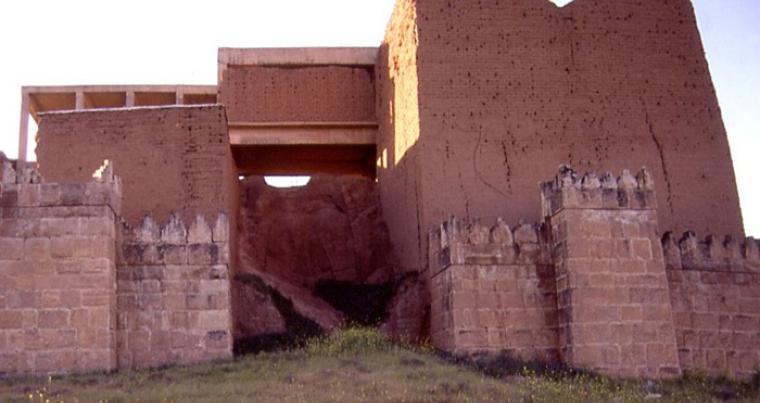 The ancient Nineveh wall is facing destruction. (TAW)